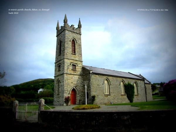 St Mura's Parish Church, Fahan. co.Donegal – 1820 ...