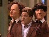 Dan as the Three Stooges in Roseanne