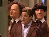 Dan as the Three Stooges in Roseanne
