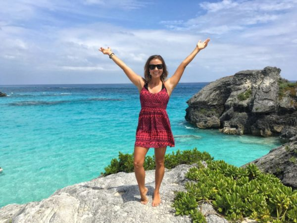 Image of Curiously Erin in Bermuda