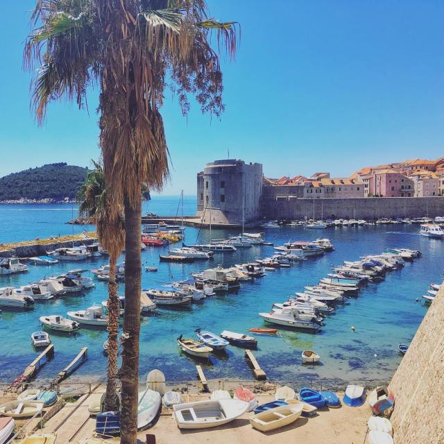 Bye bye pretty Croatia Dubrovnik was such a great cityhellip