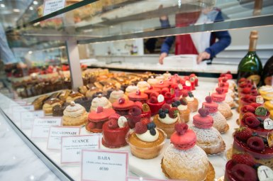Beautiful French desserts