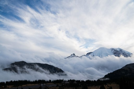 Mt. Rainier and how it almost eluded us