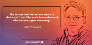 Linus Torvalds Laptop