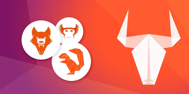 Ubuntu Mascots