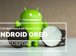 Motorola Android oreo