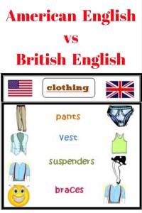 American English vs
