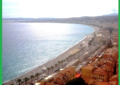 baie des anges, bay of angels, nice france