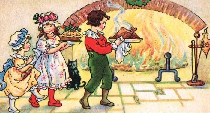 13 desserts - children fireplace