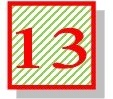 13 striped