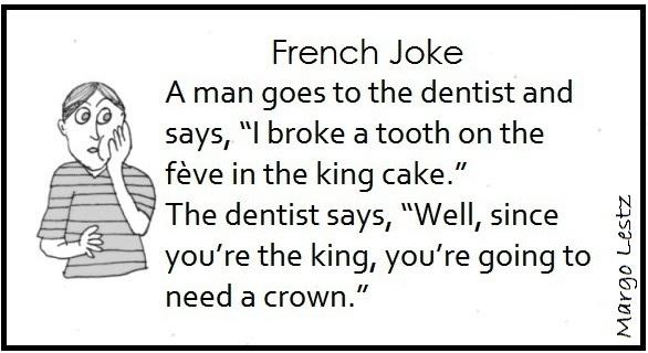joke, fève, king cake, galette des rois