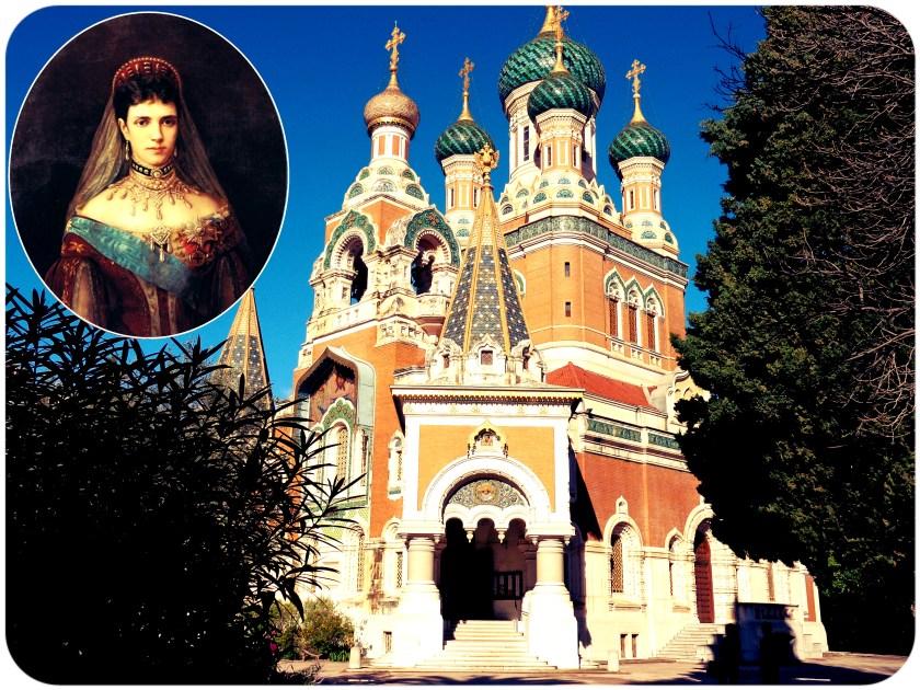 Russian Orthodox Cathedral Church, Nice, France, Empress, Tsarina Maria