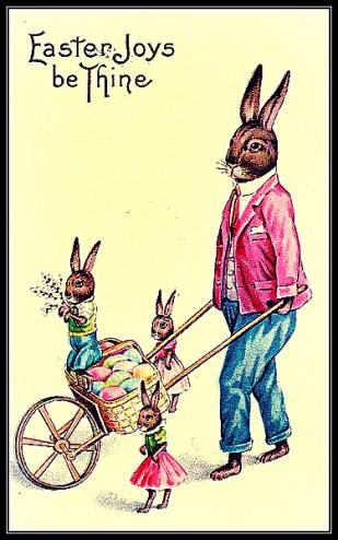 Easter bunny vs Easter bell