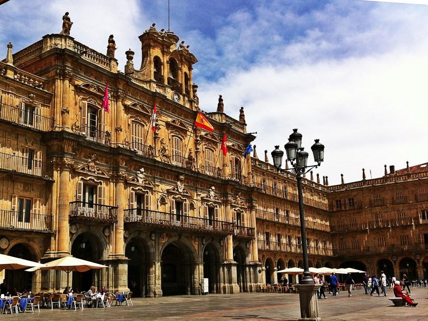Plaza Mayor, Salamanca Spain