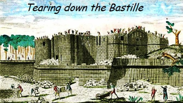 Tearing down the Bastille