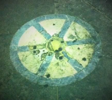 The stone of shame, New Market, Mercato Nuovo, Florence Italy