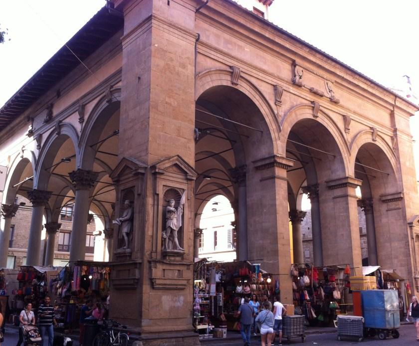 new market, mercato nuovo, Florence Italy