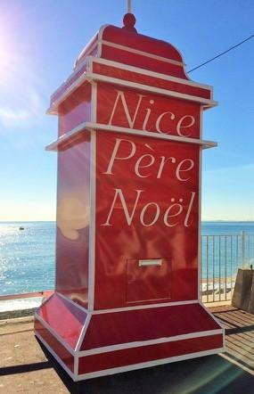 pere noel post box nice france