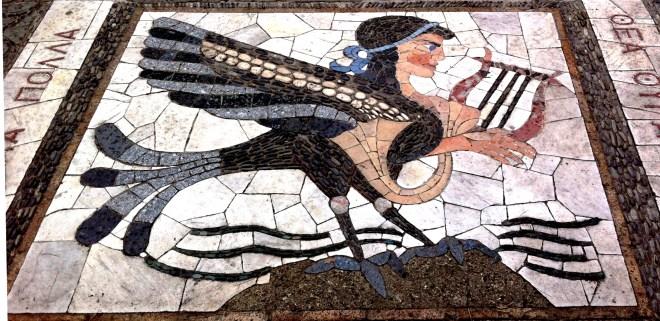 Homer's Odysse steps in Nice, France