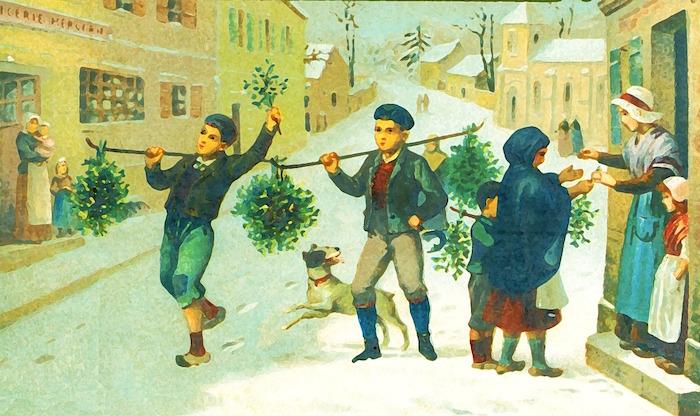 Mistletoe sellers pd