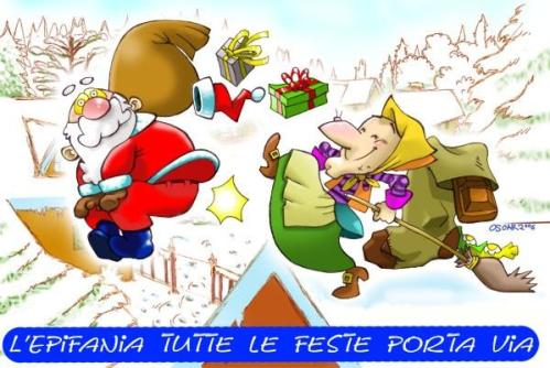 Befana and Santa Claus