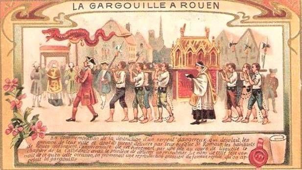 Rouen Gargoyle, Gargouille