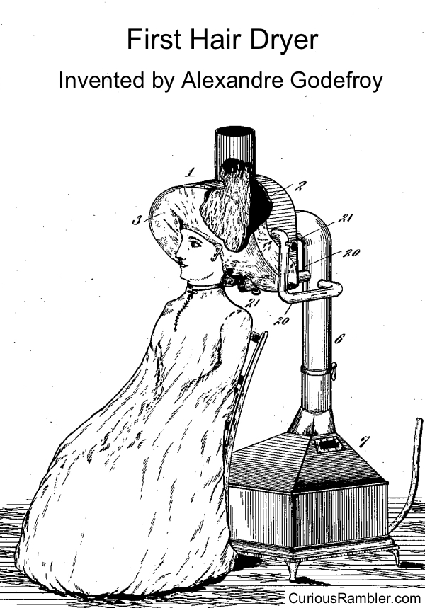 First Hair Dryer, Alexandre Godefroy