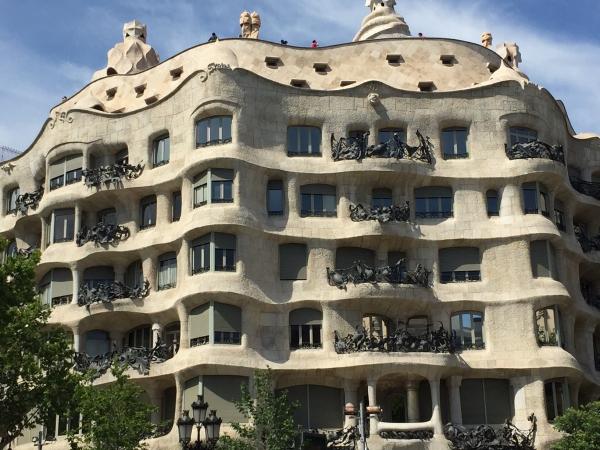 Casa Mila, Gaudi, Barcelona