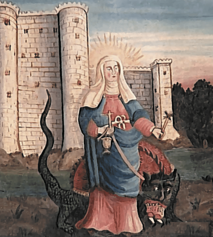 St Martha andTarasque