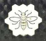 Manchester bee on bin