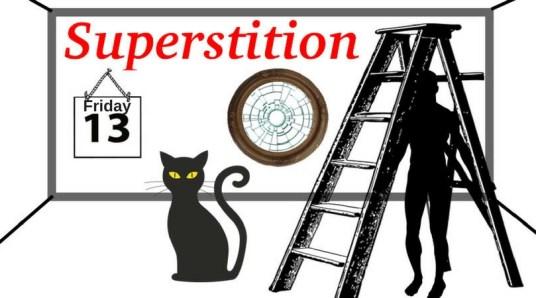 Friday 13 Superstition Black cat
