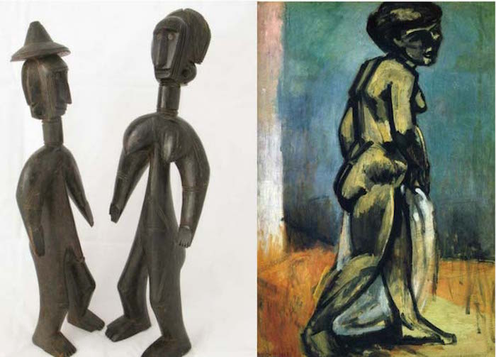 Matisse wood statues