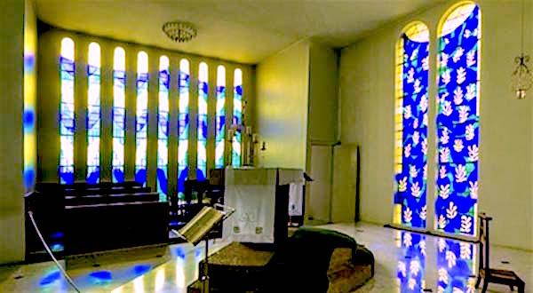 Matisse chapel interior