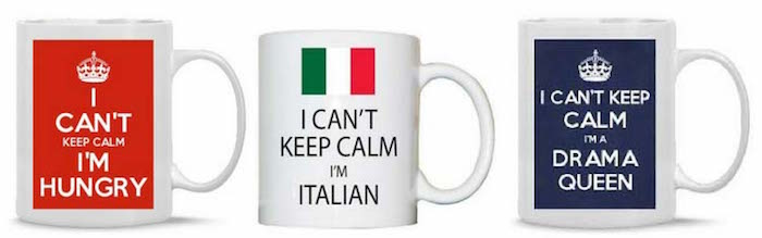 Keep Calm cups