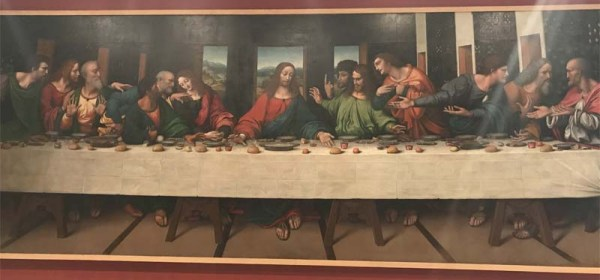 Last Supper in London, England