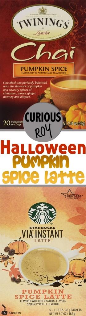 Halloween Pumpkin Spice Latte