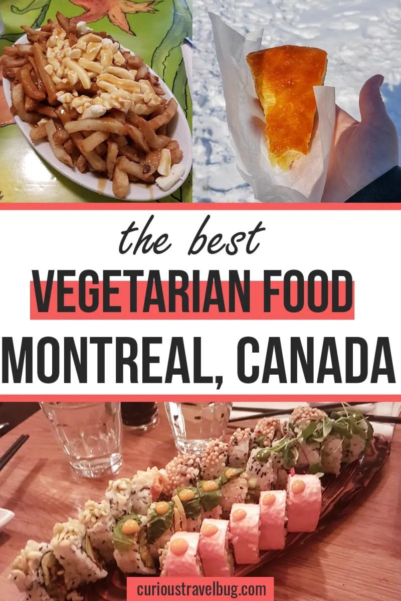 Montreal Vegetarian and Vegan Food Guide