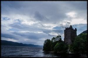 Scotland Highlands Urquhart Castle Loch Ness
