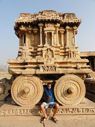 Hampi, India. One of our very favourite places in the world