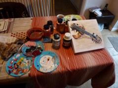 Saturday 06-02-16. Got the paints out.