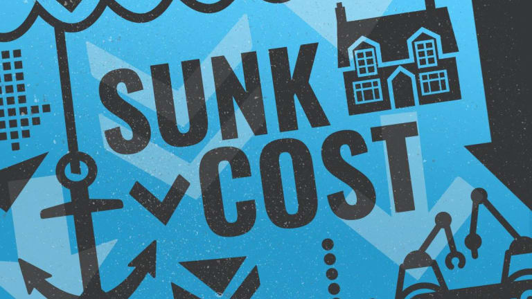THe sunk cost fallacy summary