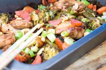 Kiprecept Kip teriyaki met groenten