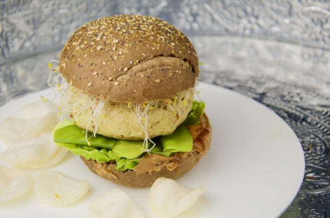 Recept Burger kipkerrie