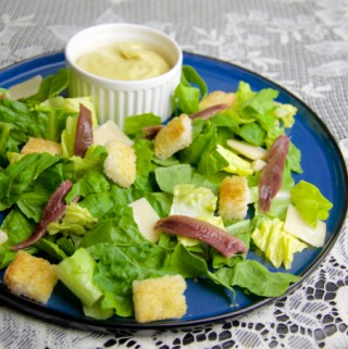 Recept Ceasar salad