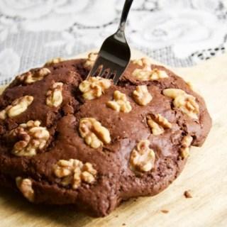 Recept Chocoladekoek met walnoten