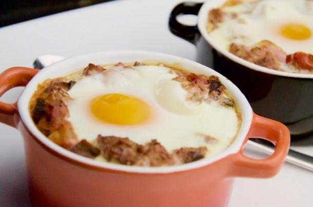 Recept Ratatouille uit de oven met ei
