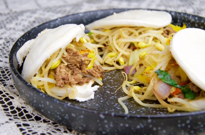 Recept Steamed bun met eend