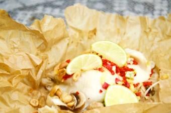 Recept Thaise vispakketjes uit de oven