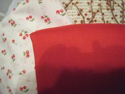 solid red's gonna be a skirt~ and blouses?