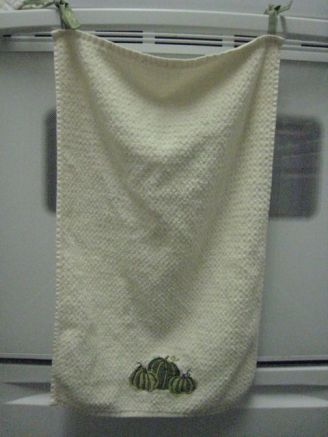 finally a towel that won't immediately land on the floor!